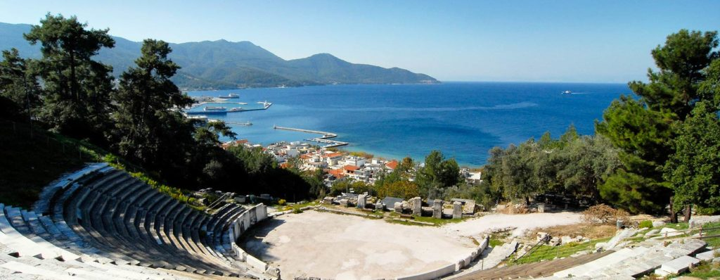 ancient theater of Limenas/Thassos Town
