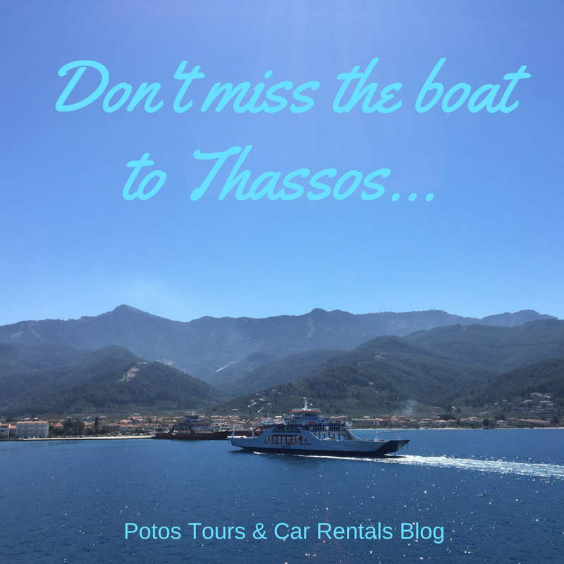 ferry boats to thassos