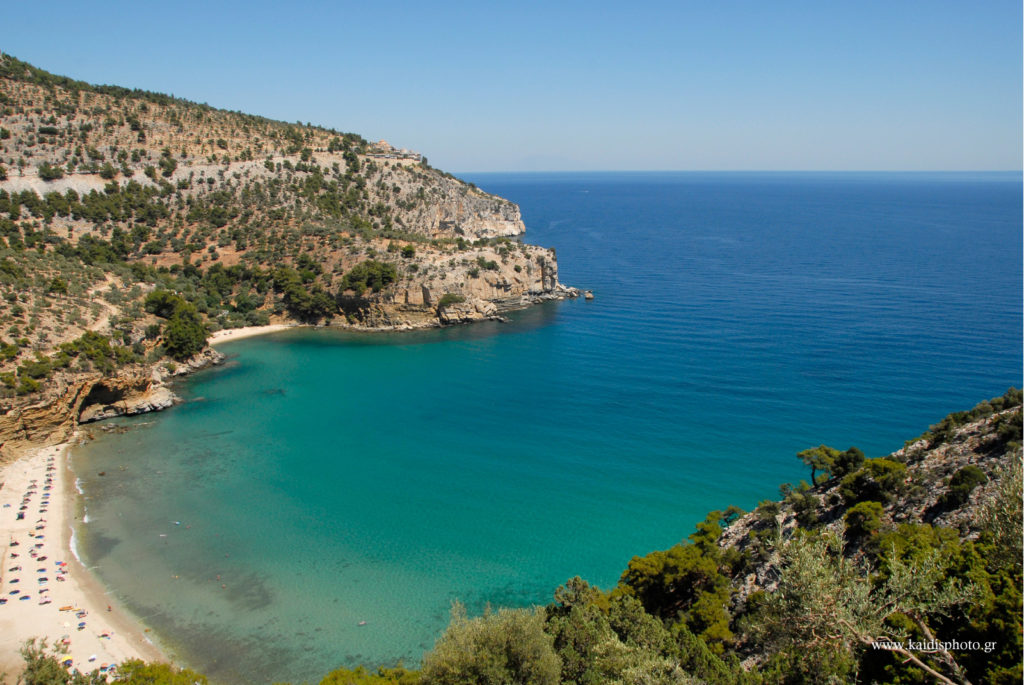 Secluded Beach on Thassos