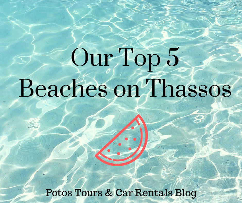 best beaches in Thassos