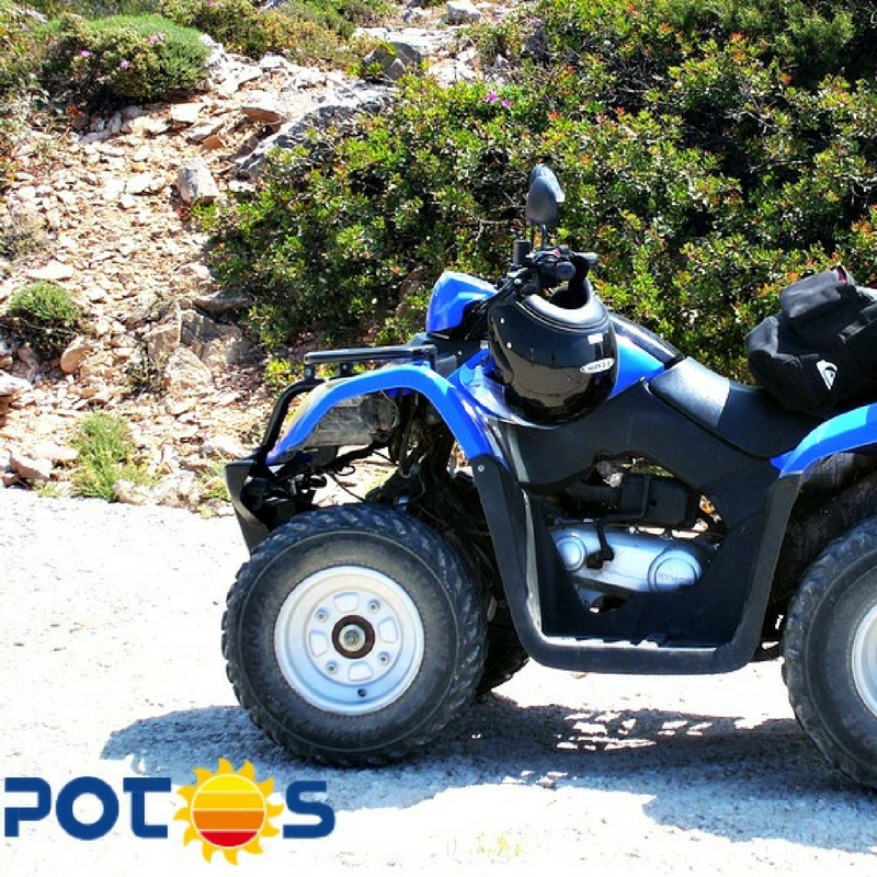 Quad Bike Rental Thassos