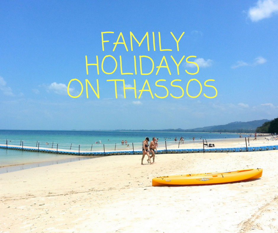 best family beaches in thassos