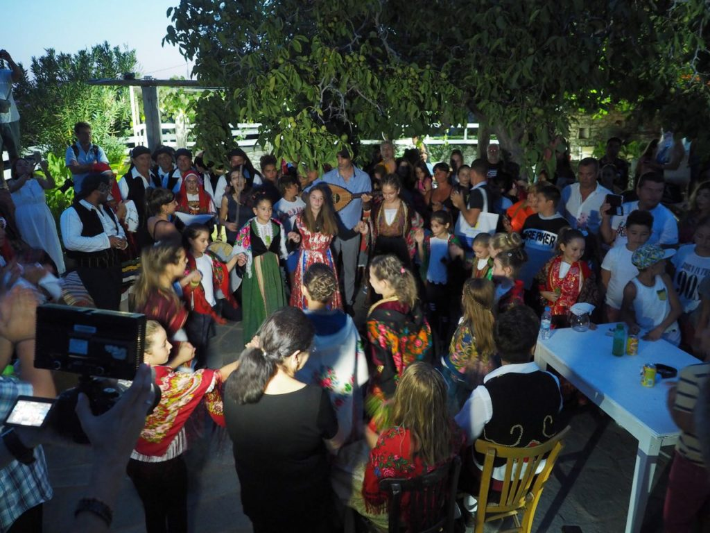 Celebration in Thassos