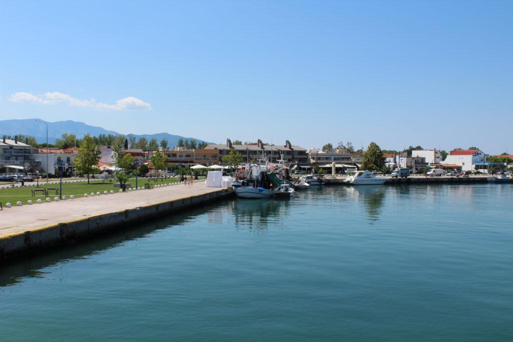 Keramoti port