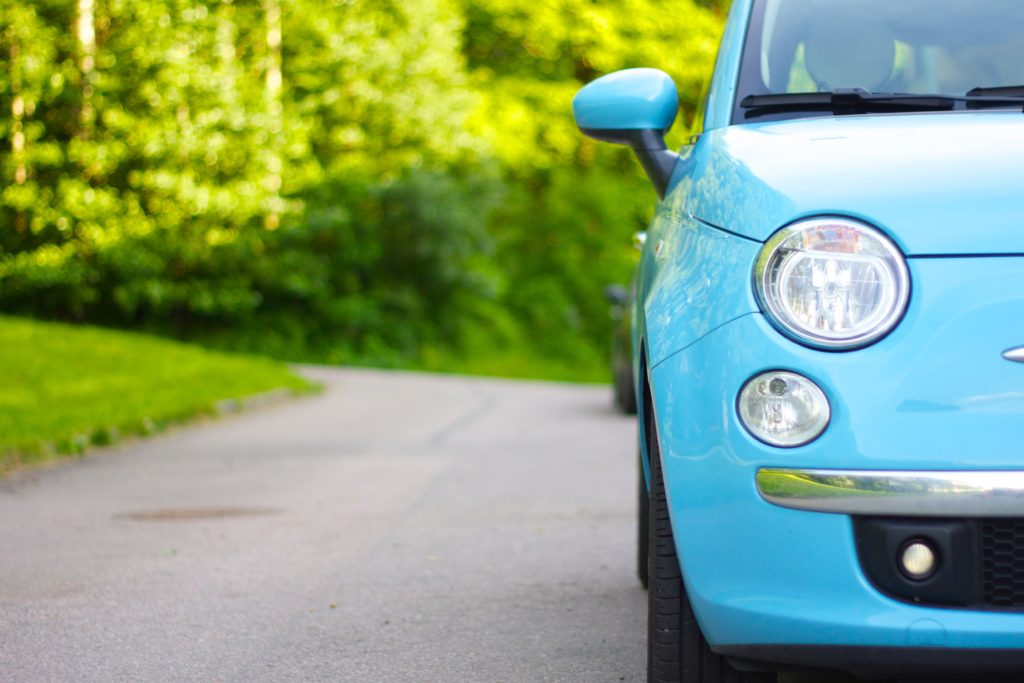 Car hire in Thassos Fiat 500
