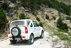 thassos jeep safari tour